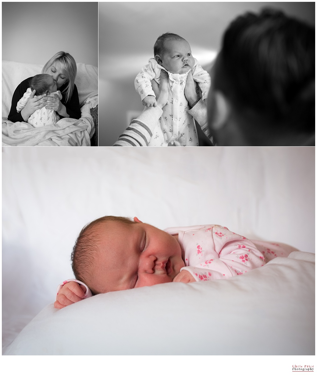 Chris Price Photography, Newborn Photography Pembrokeshire