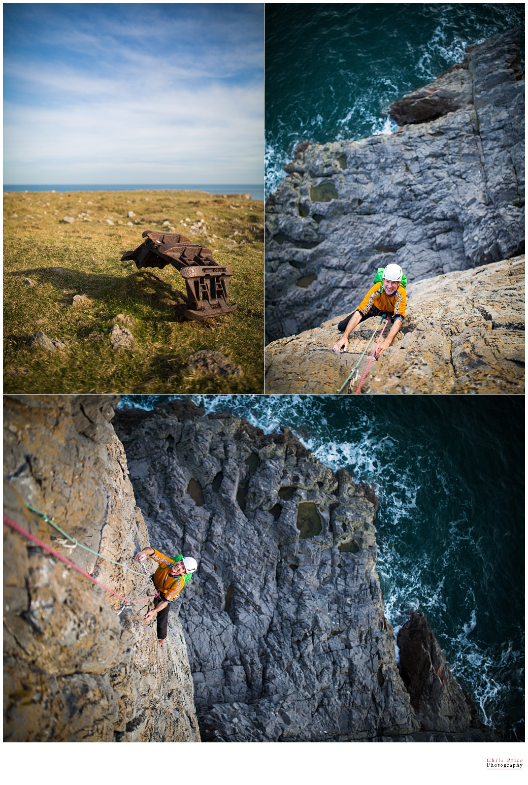 Chris Price Photography, Wedding, Climbing photography, Pembroke Climbing Photography